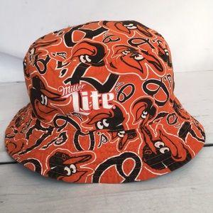 Baltimore Orioles Miller Lite Bucket Hat